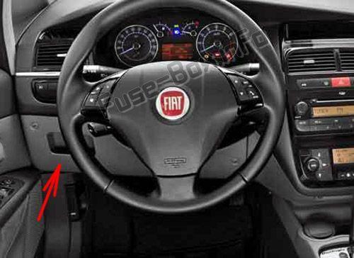 Fiat Linea 2007 2016 Fuse Box Location Fiat Fiat Linea Fuse Box