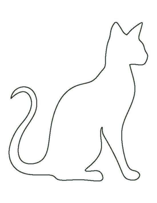 Katze malvorlage umriss - 28 images - katze malvorlage