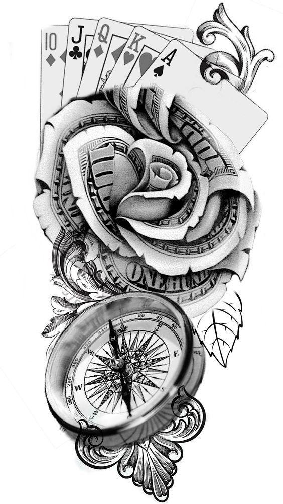 Poker Hand Tattoo Vorlagen Tattoo Ideen Vorlagen 2