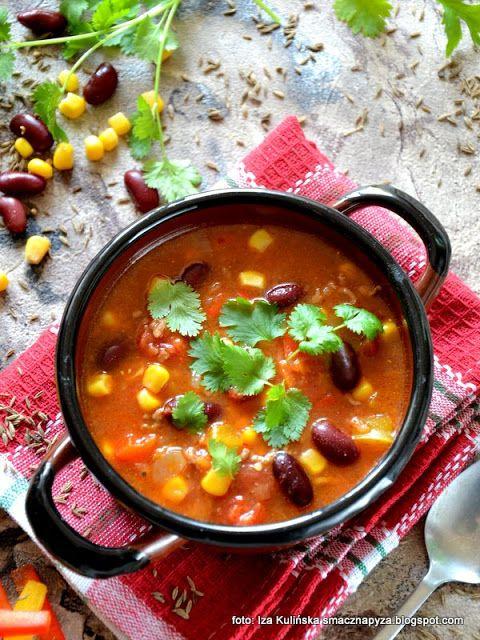Smaczna Pyza Zupa Meksykanska Z Mielona Wolowina Recipes Delicious Soup Healthy Recipes