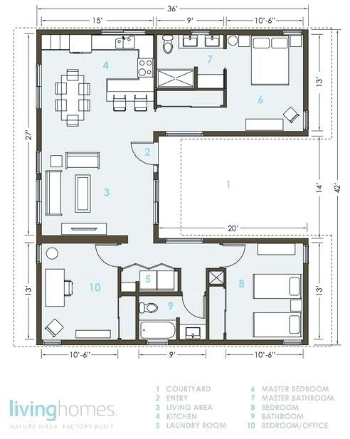new space efficient house plans and house plans with laundry room ...
