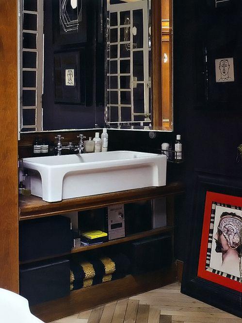 Cuarto de baño, música and oscuro on pinterest