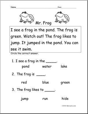 29+ K 1 reading worksheets Images