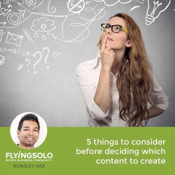 So you know you need to create content as it's a highly effective marketing tool. But before you start, it's important to consider these five things first.