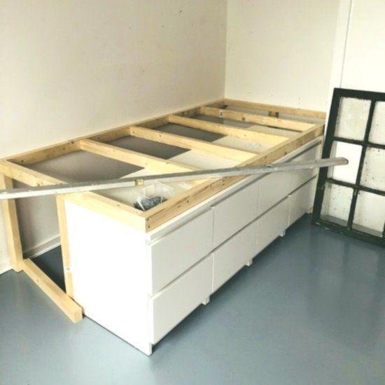 Halvhoj Seng Med Opbevaring By Villebro Halvh Opbevaring Villebro New Opbevaring Hjem Ikea Ideer