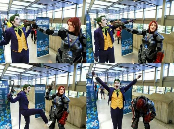 Joker and Shepard