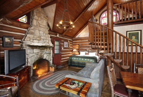 Luxury Cabin One Room Cabins And Cabin On Pinterest