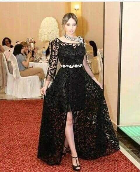 فستان اسود لتصديرة العروس في قمة الروعة و الاناقة عالم المراة Moroccan Dress Beautiful Dresses For Women Fashion Dresses