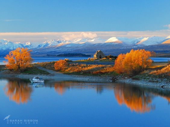 Church of The Good Shepherd - Lake Tekapo New Zealand by Todd & Sarah Sisson.     Thanks for viewing :)    Visit us online at www.sisson.co.nz/shop/shop-by-product/canvas-prints.html    Cheers - Todd & Sarah Sisson