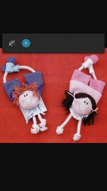 Casal bonecas