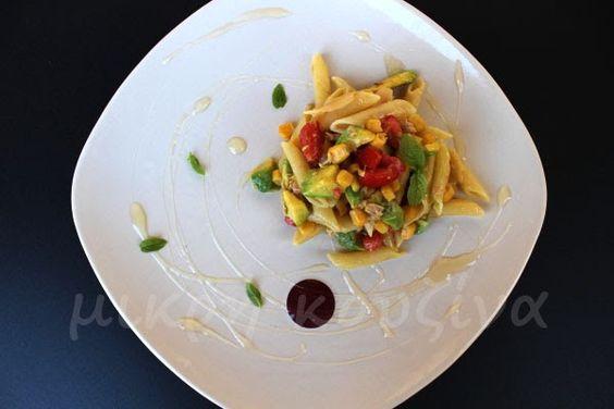 Δροσερή μακαρονοσαλάτα με αβοκάντο και τόνο | μικρή κουζίνα | Bloglovin'