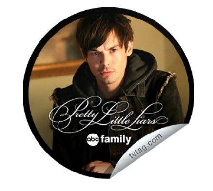 Pretty Little Liars -Tv Tag Sticker. 100th Episode  Miss Me x 100