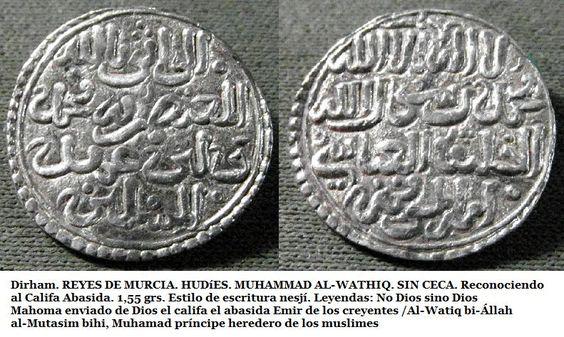 numismatica medieval.com: Dirhem Banu Hud versus mencal alfonsí, un proyecto monetario fracasado: