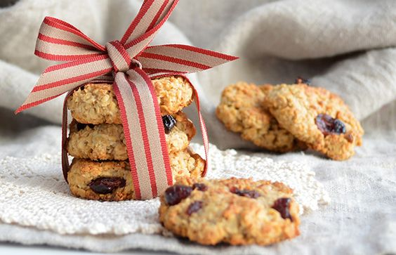 Cranberry Oatmeal Cookies (Cranberry Citrus Crisps copycat) #diy #girlscoutcookies