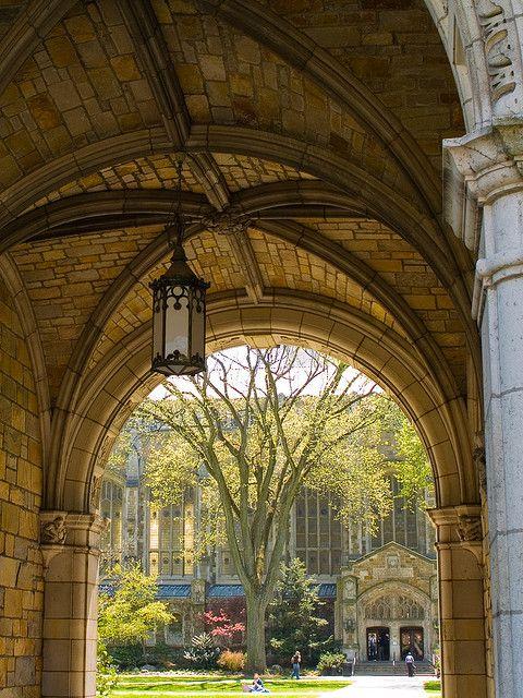 Law Quad, University of Michigan, Ann Arbor, May 2007 by Conlawprof, via Flickr