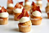 kunquat cupcakery, c/o brooklyn flea. The best cupcake (maple/bacon) I have ever tasted...