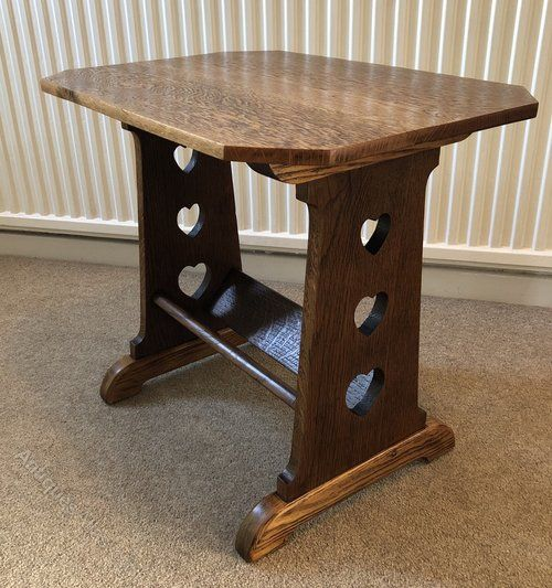Arts And Crafts Bookstand Side Table C1900 Antiques Atlas Arts
