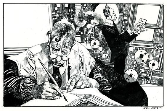 sergio toppi illu Comic Art