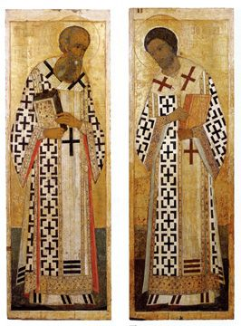 John Chrysostom and Gregory the Theologian