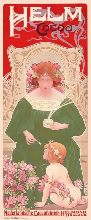 Helm Cocoa (1899) by Henri Privat-Livemont (1861–1936). Wikimedia.