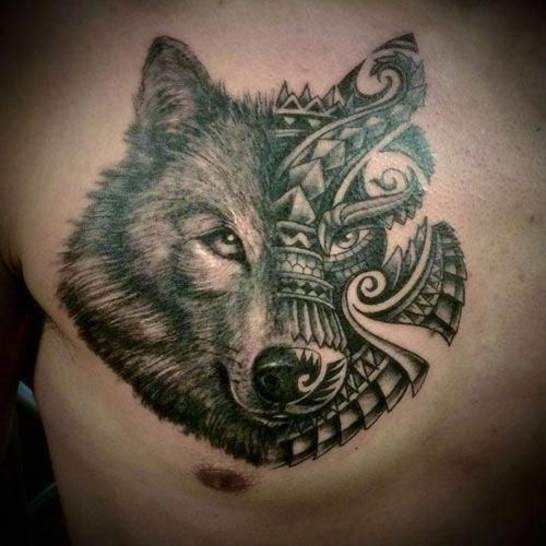 Tribal Wolf Tattoos For Men Best Wolf Tattoos For Men Cool Wolf Tattoo Designs And Ideas For Guys How Tribal Wolf Tattoo Wolf Tattoos Men Tattoos For Guys