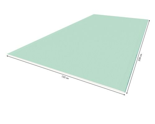 Gipskartonplatte Impragniert Knauf Gkbi 2500x1250x12 5mm Die Feuchtraumplatte