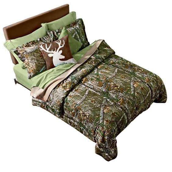 Sawing logs in Realtree bedding! #shopko