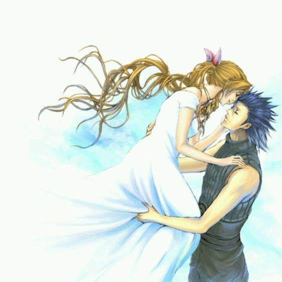 Final Fantasy VII - Zack Fair x Aerith Gainsborough ...