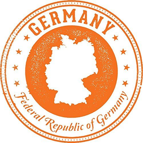 Germany Grunge Rubber Stamp Home Decal Vinyl Sticker 12 X 12 Check This Awesome Product By Going To Vinyl Sticker Vinyl Stickers Laptop Window Stickers