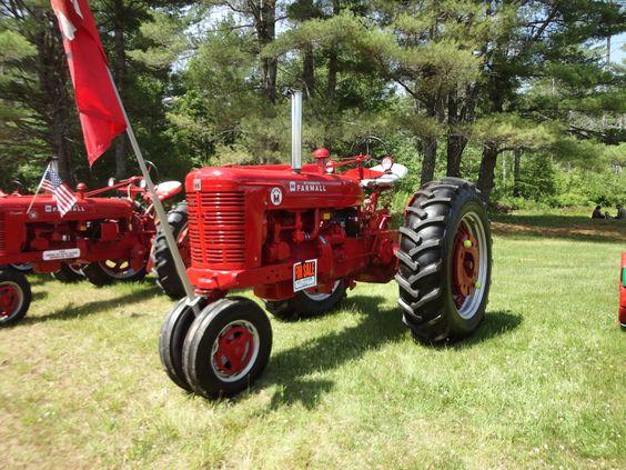 Super M Farmall Tractor