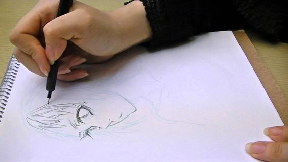 "Tateha_Ryou たては遼""How to draw manga"" boy's face01-01"