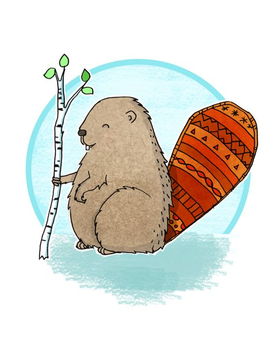 Cute beaver digital print, Beaver digital art, Beaver nursery art, Woodland nursery art, Printable beaver art, Cute printable art, Beaver by OneTongueSoup on Etsy