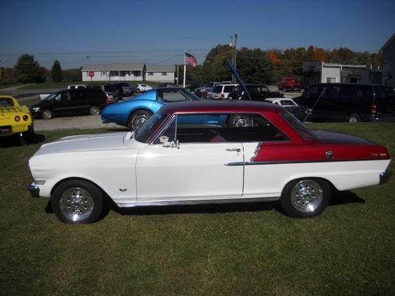 1963 Nova Muscle Cars Camaro Chevrolet Nova American Classic Cars