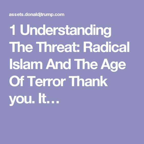 What is the difference between ISLAM and RADICAL ISLAM. thanks?