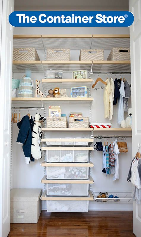 Even The Smallest Baby Accessories Can Be Organized In An