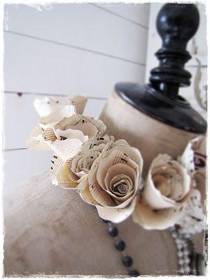 chic-schnack.  -- paper roses