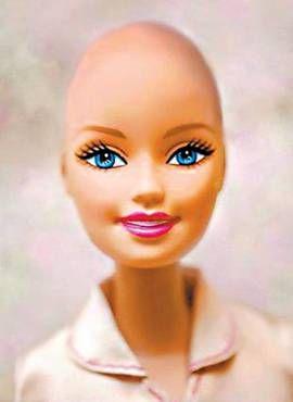 """A página no Facebook """"Beautiful and Bald Barbie! Let's see if we can get it made"""" (Barbie linda e careca! Vamos ver se conseguimos com que ela seja produzida) foi criada em dezembro. Ontem, tinha mais de 125 mil fãs."""