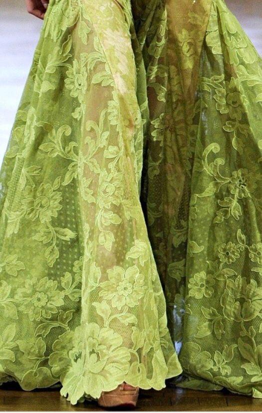 Stunning Green Lace luxurydotcom pinterestluxury