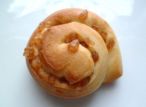 Les Crocs du Loupinet : Briochettes au sucre candi ambré