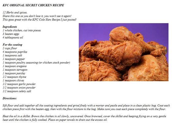 how to make kfc original recipe chicken
