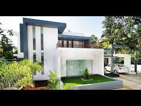 Small Modern Double Floor House 1500 Sft For 15 Lakh Elevation Interior Home Plan Youtube In 2020 House Plans Kerala House Design Budget House Plans