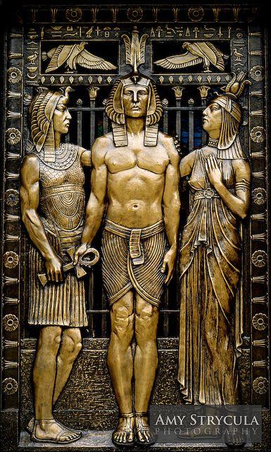 Mausoleum Door - Allegheny Cemetery  I LOVE this.