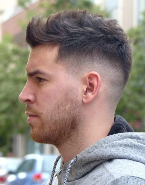 45 Simple Short Hairstyles For Men Clean Short Haircuts 2019 Men S Hairstyles Mens Hairstyles Short Short Hair Style Photos Mens Medium Short Hairstyles
