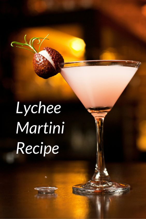 The Lichitini (or Lychee Martini) is a luscious and sweet cocktail ...
