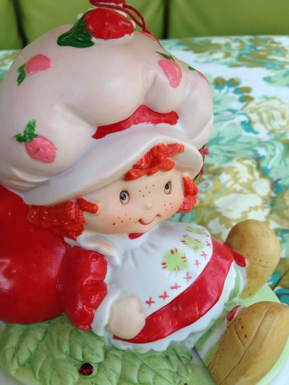 1981 Johnson Quality Products Strawberry Shortcake Lamp With Tag #ClothingAccessories