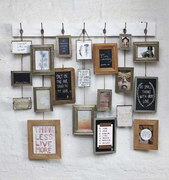 Meer dan 1000 idee n over fotolijstjes ophangen op pinterest afbeeldingen ophangen collage - Foto deco volwassen kamer ...