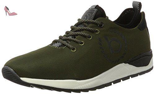 322287606900, Sneakers Basses Homme, Vert (Dark Green), 41 EUBugatti