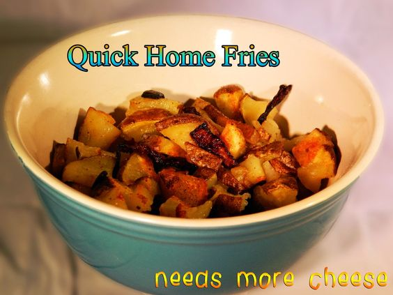 Quick and easy home fries | Recipes | Pinterest | Home Fries, Skillets ...