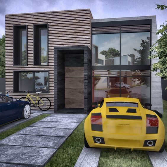 Remarkable Small Modern House Rizomarquitectura Pinterest Small Modern Largest Home Design Picture Inspirations Pitcheantrous