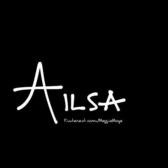 """Baby girl's name Ailsa. """"Fairy."""" Close to popular Elsa, this girl's name of Nordic origin refers to a location in Scotland called """"Ailsa Craig"""" meaning """"fairy rock."""""""